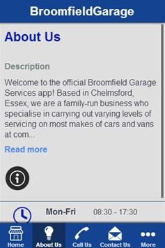 Broomfield Garage Services screenshot 1
