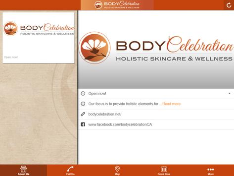 Body Celebration Skincare apk screenshot