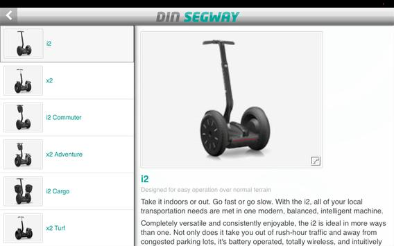 Din Segway screenshot 4