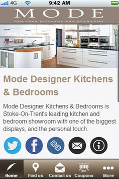 Mode Kitchens & Bedrooms poster