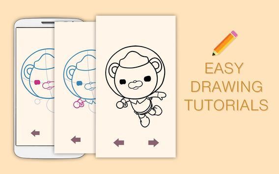 Draw Drawings Octonauts Ocean Adventures screenshot 3