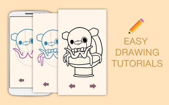 Draw Drawings Octonauts Ocean Adventures screenshot 7