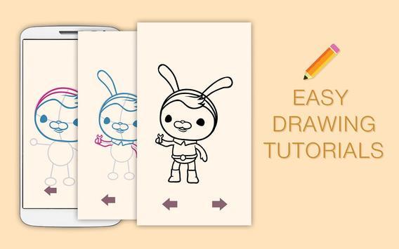 Draw Drawings Octonauts Ocean Adventures screenshot 5