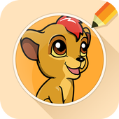 Draw Drawings Jungle Guard for Animal King icon