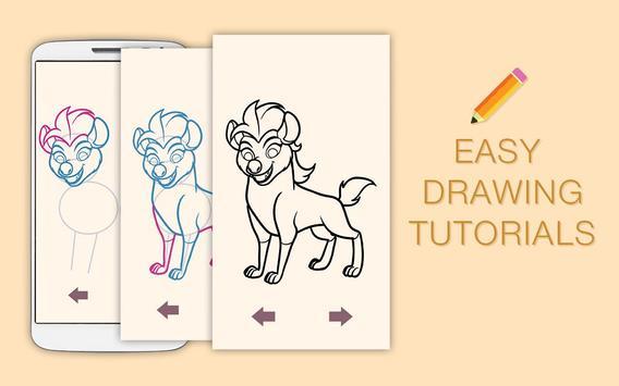 Draw Drawings Jungle Guard for Animal King screenshot 6