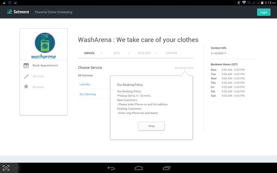 washarena : we take care of your clothes apk screenshot