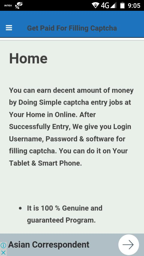 Captcha Typing Jobs High Payout for Android - APK Download