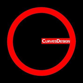 Curves Design poster