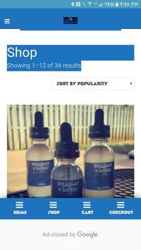 Dilligaf Vapors E-Juice apk screenshot