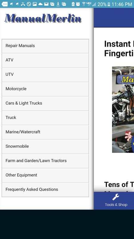manuals for cars pdf