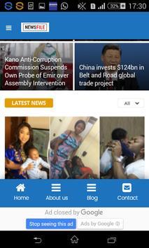 Newsfile NG screenshot 2