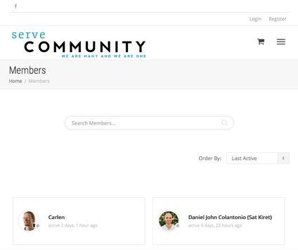 Serve Community screenshot 2