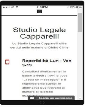 Studio Legale Capparelli poster