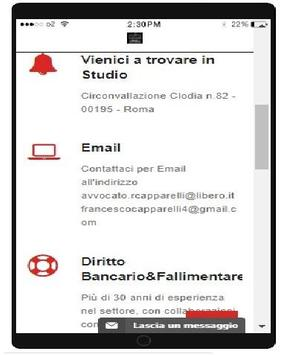 Studio Legale Capparelli apk screenshot