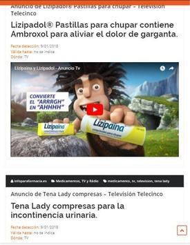 Infoparafarmacia screenshot 2