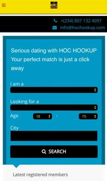 HOC HOOKUP poster