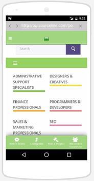 OutsourceLine apk screenshot