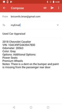 Trade-In Appraisal Slip screenshot 2