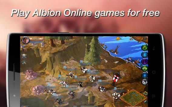 Albion. Online Game poster