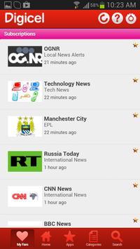 Digicel DigiINFO apk screenshot