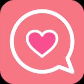 Lover matching-swipe LOVE- icon