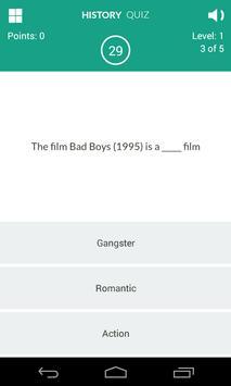 History of Movies Quiz screenshot 4