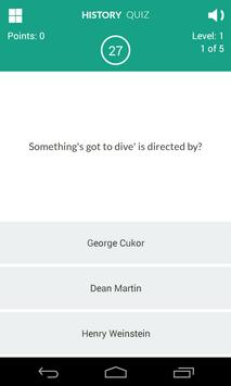 History of Movies Quiz screenshot 9