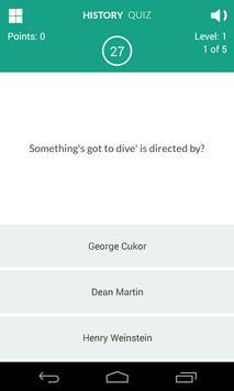 History of Movies Quiz screenshot 16
