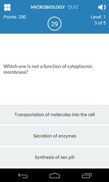 Microbiology Quiz screenshot 4
