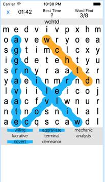英単語の最強暗記アプリ-ワードサーチでTOEIC600点! poster