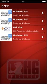 HG Seguros apk screenshot