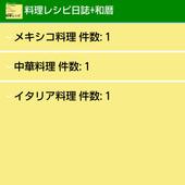 料理レシピ日誌+和暦 icon