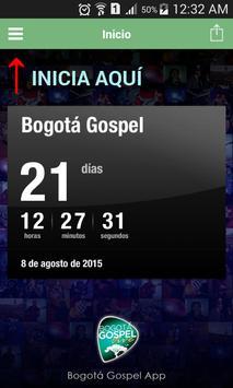 Bogota Gospel poster
