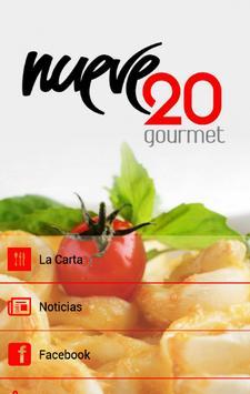 Nueve20 Gourmet poster