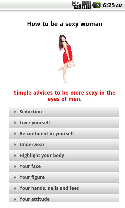 how to be more sexy