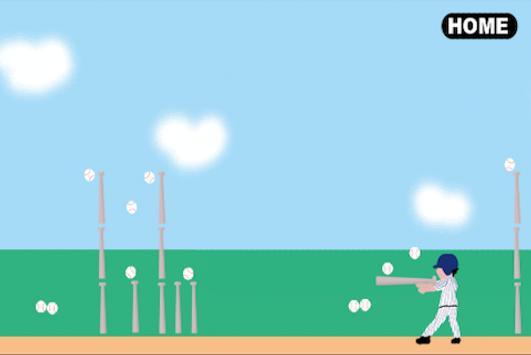 Bat Throwing!! poster