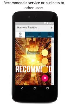 London Business Reviews apk screenshot