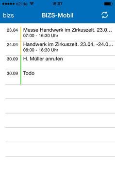 BIZS-App screenshot 1