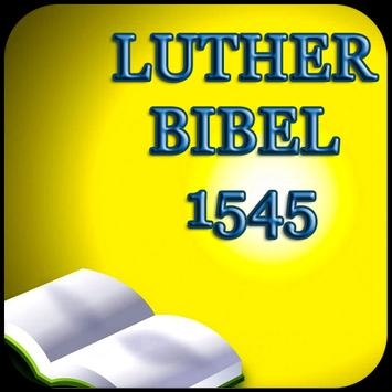 LUTHER BIBEL 1545 poster