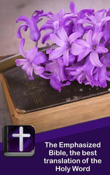 Bible with amplified text apk screenshot