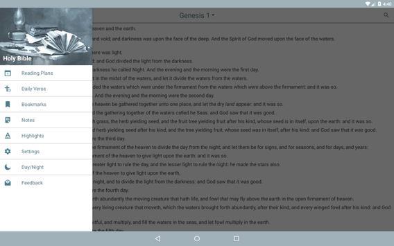 King James Bible Version - KJV Bible screenshot 8