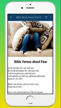 Bible Verse About Fear App screenshot 2