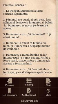 Biblia Cornilescu Română (Romanian Bible) screenshot 2