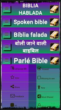 Bible spoken. poster