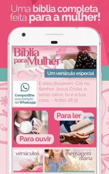 Bíblia Para Mulher - Feminina com Áudio MP3 Plakat