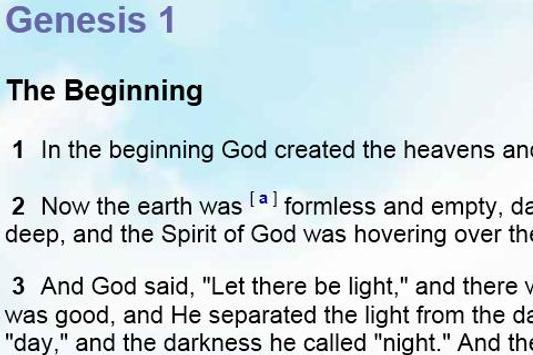 Bible NIV New Intl. Version apk screenshot