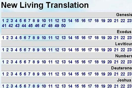 Bible New Living Translation apk screenshot