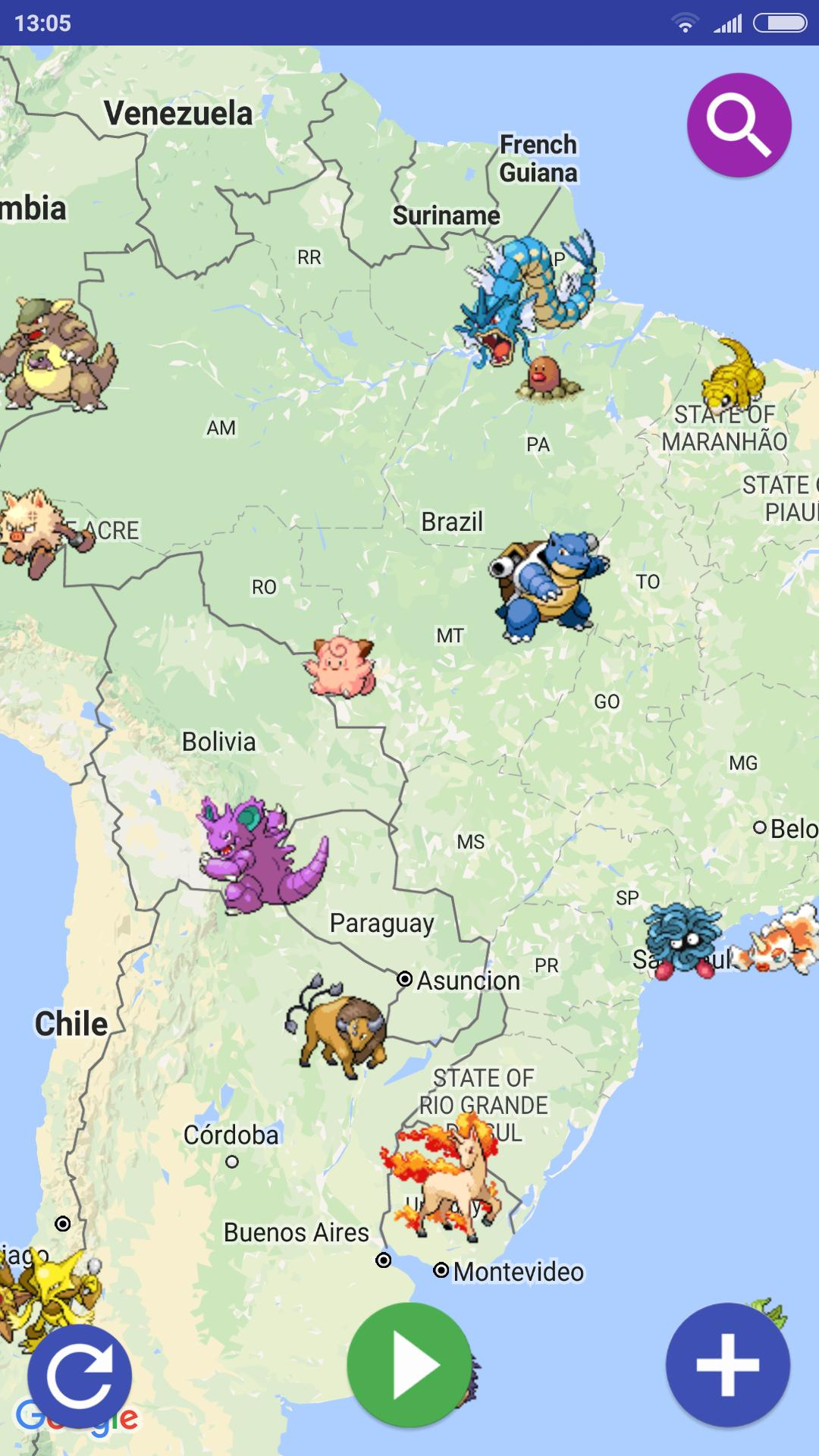 PokeMap for Android - APK Download