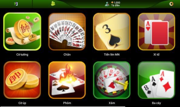 Tien len doi thuong sieu kool apk screenshot