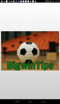 Bigwin Sports Betting Tips poster